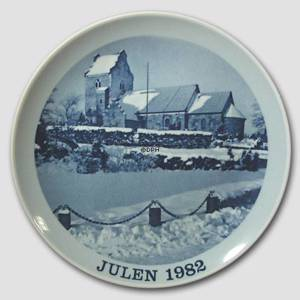 1982 Christmas plate Familie Journalen