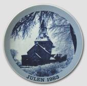 1983 Christmas plate Familie Journalen