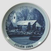 1984 Christmas plate Familie Journalen