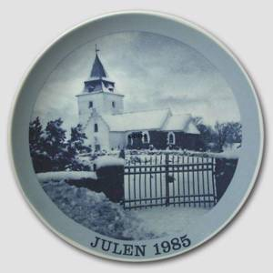 1985 Christmas plate Familie Journalen