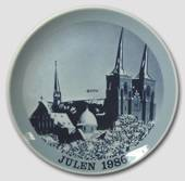 1986 Christmas plate Familie Journalen