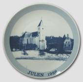 1988 Christmas plate Familie Journalen