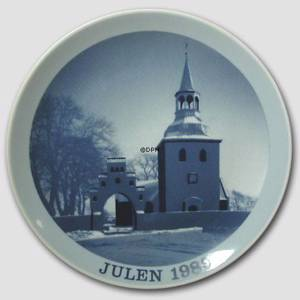 1989 Christmas plate Familie Journalen
