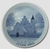 1990 Christmas plate Familie Journalen