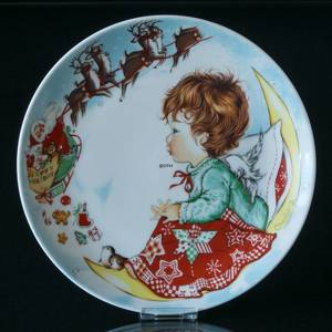 1975 Hummel Goebel Charlot Byj Christmas plate | Year 1975 | No. GCBX1975 | DPH Trading