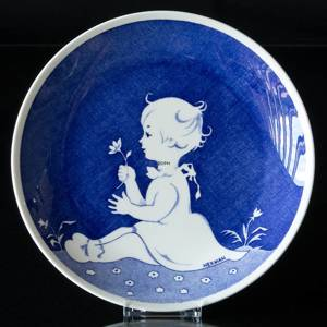 Gustavsberg Annual Plate with Silhuet by Einar Nerman 1979 | Year 1979 | No. GEA1979 | DPH Trading