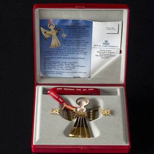 Angel-bright Georg Jensen Christmas Mobile 1989 | Year 1989 | No. GJJU1989 | Alt. 3410189 | DPH Trading