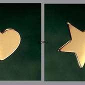 Heart and Star - Georg Jensen candleholder set