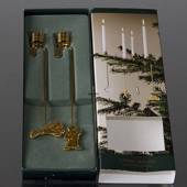 Sheaf and Pixies - Georg Jensen candleholder set