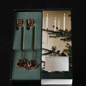 Dove and Elves - Georg Jensen candleholder set