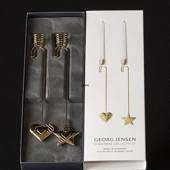 Heart and Star - Georg Jensen candleholder set 2019