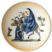 Goebel Janet Robson commemorative plate, Flight into Egypt,