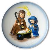 Goebel Janet Robson commemorative plate, Joseph, Mary and Christ Child