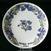 1981 Gustavsberg Mother´s Day plate