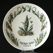 1983 Gustavsberg Mother´s Day plate