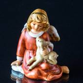 Goebel Hummel Annual Angel Figurine 2001 Angel with Lamb