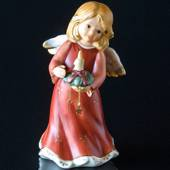Goebel Hummel Annual Angel Figurine 2005 Angel with Candle Decoration