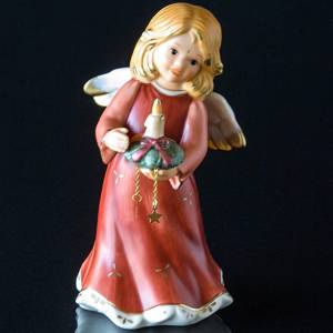 Goebel Hummel Annual Angel Figurine 2005 Angel with Candle Decoration | Year 2005 | No. HAF2005 | Alt. 41-216-01-1 | DPH Trading