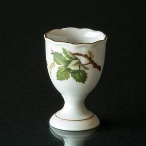 Hackefors Egg Cup, white with branch | No. HAG04 | DPH Trading