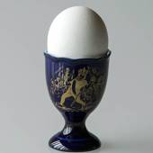 Hackefors Egg Cup, blue, The Emperor's New Clothes