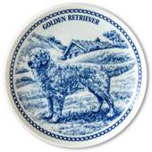 Hansa dog plate no. 2, Golden Retriever