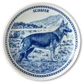 Hansa dog plate no. 5, German Shepherd