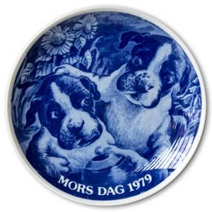 1979 Hansa Mothers Day plate, dog | Year 1979 | No. HAM1979 | DPH Trading