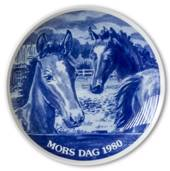 1980 Hansa Mother's Day plate, horse
