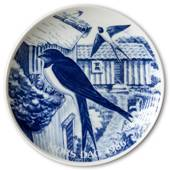 1986 Hansa Mother's Day plate, swallow