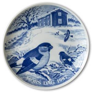 1987 Hansa Mothers Day plate, bird | Year 1987 | No. HAM1987 | DPH Trading