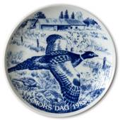 1988 Hansa Mother's Day plat, pheasant