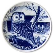 1989 Hansa Mother's Day plate, Owl