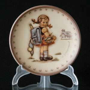 Hummel Annual plaquette 1980 School Girl, Miniature Plate | Year 1980 | No. HAPL1980 | DPH Trading