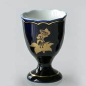 1977 Hutschenreuther Cobalt Blue Egg Cup, Thumbelina