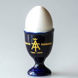 Hackefors Tonkin 10th Anniversary Egg Cup