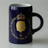 Hackefors king series, mug no. 3, Carl XVI Gustaf