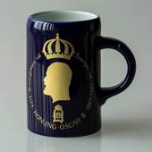 Hackefors king series, mug no. 5, Oscar II