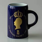 Hackefors king series, mug no. 10, King Oscar I