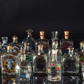 Holmegaard Bottles various, price for 1 pcs. ask for current selection befo...