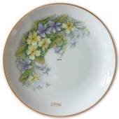 1996 Hackefors mother's day plate Primula