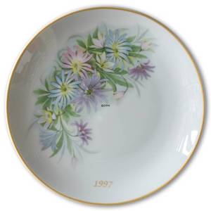 1997 Hackefors mothers day plate Flower Bouquet | Year 1997 | No. HMT1997 | DPH Trading