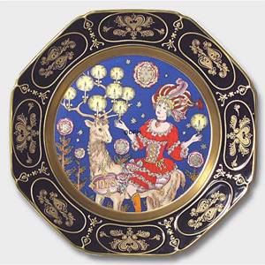 1978 Christmas plate Hutschenreuther | Year 1978 | No. HX1978 | Alt. HJ780 | DPH Trading