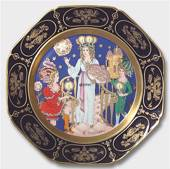 1979 Christmas plate Hutschenreuther