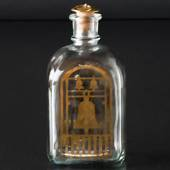 Holmegaard Christmas Bottle 1980, capacity 65 cl.