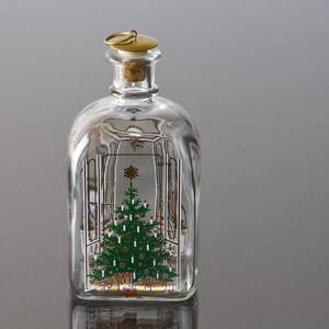 Holmegaard Christmas Bottle 1985, capacity 65 cl. | Year 1985 | No. HXF1985 | Alt. DG.1853 | DPH Trading