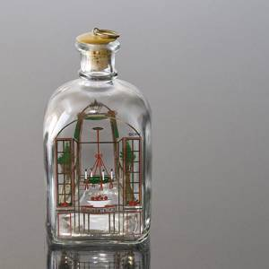 Holmegaard Christmas Bottle 1986, capacity 65 cl. | Year 1986 | No. HXF1986 | Alt. DG.1853 | DPH Trading