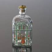 Holmegaard Christmas Bottle 1987, capacity 65 cl.