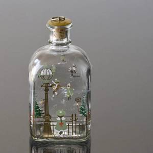 Holmegaard Christmas Bottle 1988, capacity 65 cl. | Year 1988 | No. HXF1988 | Alt. DG.1853 | DPH Trading