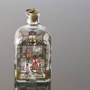 Holmegaard Christmas Bottle 1989, capacity 65 cl. | Year 1989 | No. HXF1989 | Alt. DG.1853 | DPH Trading