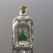 Holmegaard Christmas Bottle 1991, capacity 65 cl.
